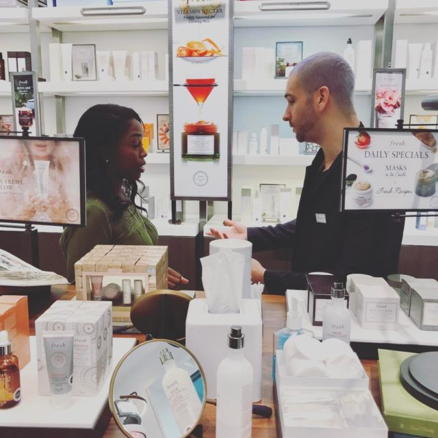 freshbeauty consultant Jared shares some amazing tips with our attendeeshellip
